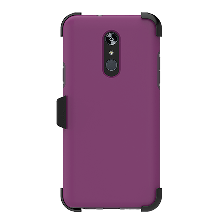 Picture of SYB Dual shield  w Holster for LG Stylo 4/4+, Purple