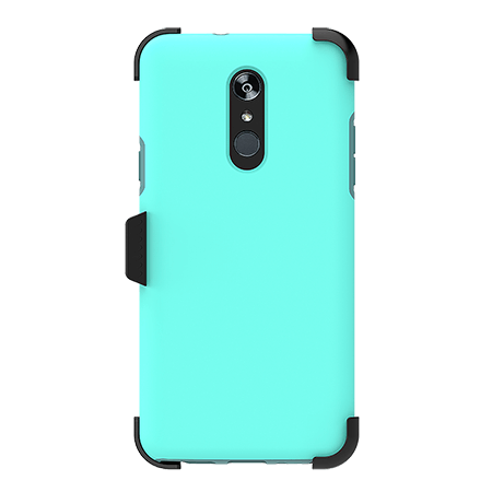 Picture of SYB Dual shield  w Holster for LG Stylo 4/4+, Teal