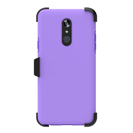 Picture of SYB Dual shield  w Holster for LG Stylo 4/4+, Violet