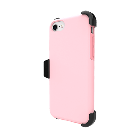 Picture of SYB Dual shield  w Holster for Apple iPhone 6s/7/8, Pink