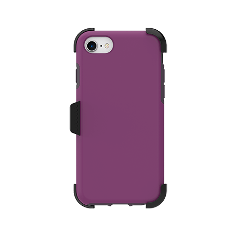 Picture of SYB Dual shield  w Holster for Apple iPhone 6s/7/8, Purple