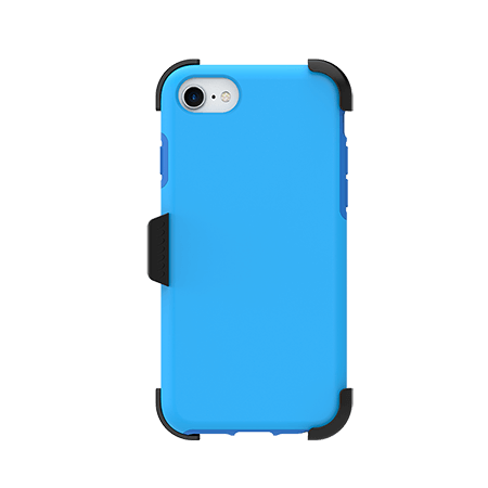 Picture of SYB Dual shield  w Holster for Apple iPhone 6s/7/8, Soft Blue