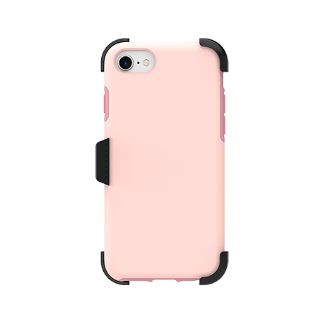 Picture of SYB Dual shield  w Holster for Apple iPhone 6s/7/8, Soft Pink