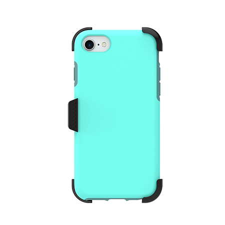 Picture of SYB Dual shield  w Holster for Apple iPhone 6s/7/8, Teal