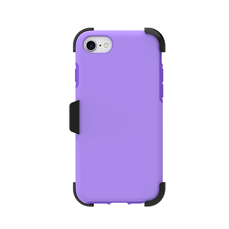 Picture of SYB Dual shield  w Holster for Apple iPhone 6s/7/8, Violet