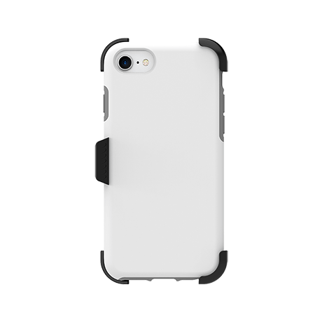 Picture of SYB Dual shield  w Holster for Apple iPhone 6s/7/8, White