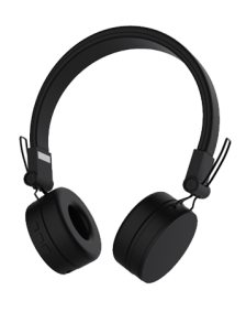 Picture of DeFunc Bluetooth Headphones OnEar GO, Black