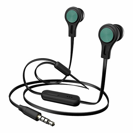 Picture of BX160 Black Precision Sound In-Ear Headphones, Teal
