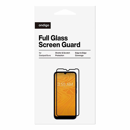 Picture of Full Coverage Glass Screen Guard for Coolpad Suva