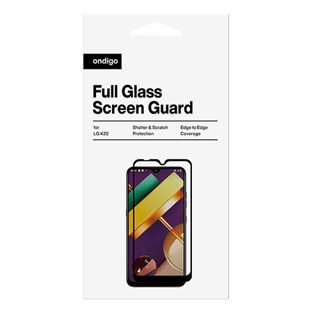 Picture of Full Coverage Glass Screen Guard for LG K22