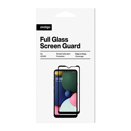Picture of Full Coverage Glass Screen Guard for LG K51