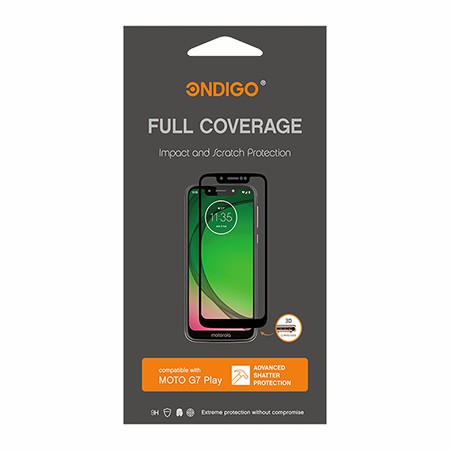 Picture of Full Coverage Glass Screen Guard for Moto G7 Play