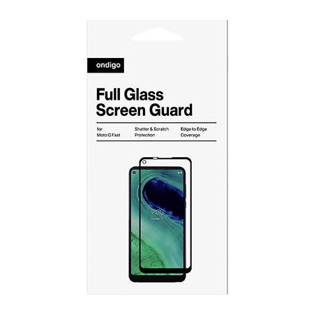 Picture of Full Coverage Glass Screen Guard for Motorola G Fast