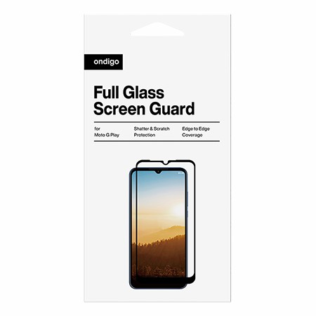 Picture of Full Coverage Glass Screen Guard for Moto G Play