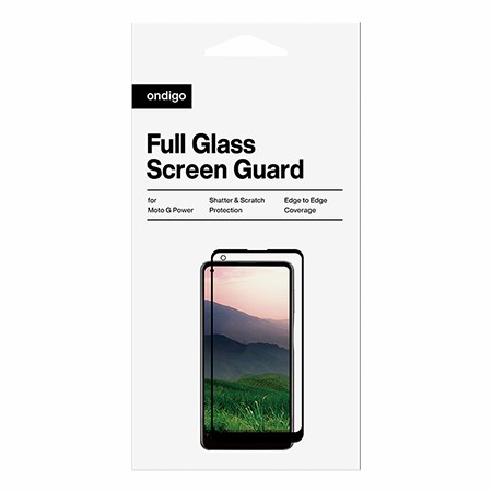 Picture of Full Coverage Glass Screen Guard for Moto G Power