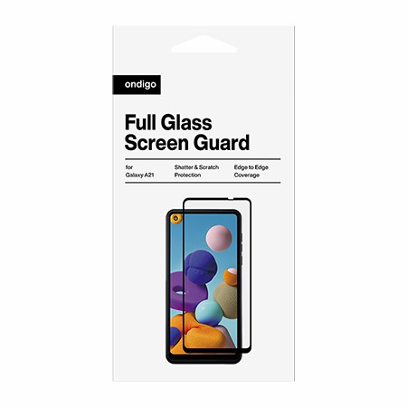 Picture of Full Coverage Glass Screen Guard for Samsung A21