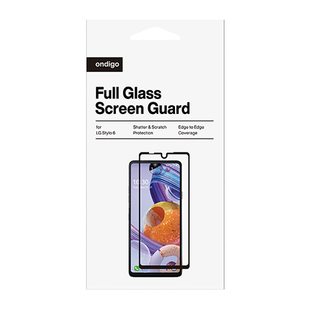 Picture of Full Coverage Glass Screen Guard for LG Stylo 6