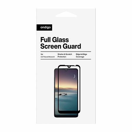 Picture of Full Coverage Glass Screen Guard for LG Tribute Monarch