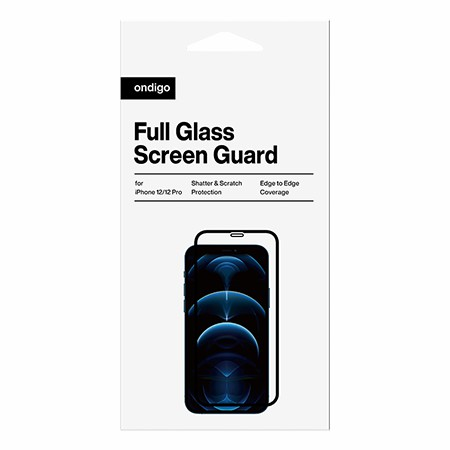 Picture of Full Coverage Glass Screen Guard for iPhone 12/12 Pro