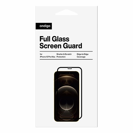 Picture of Full Coverage Glass Screen Guard for iPhone 12 Pro Max