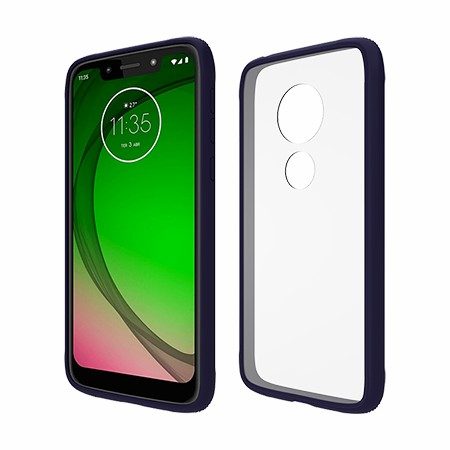 Picture of Glass Series Case for Moto G7 Play, Dark Blue