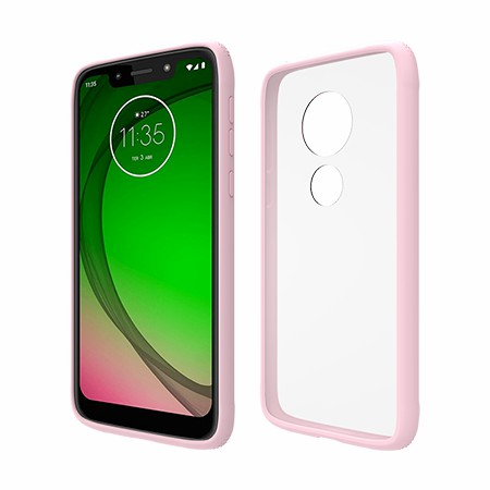 Picture of Glass Series Case for Moto G7 Play, Pink