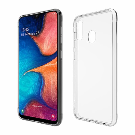 Picture of Glass Series Case for Samsung A20, Clear