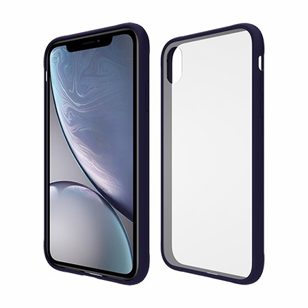 Picture of Glass Series Case for iPhone XR, Dark Blue
