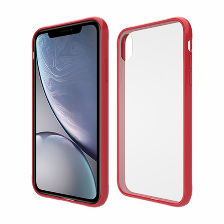 Picture of Glass Series Case for iPhone XR, Red