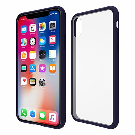 Picture of Glass Series Case for iPhone X/Xs, Dark Blue