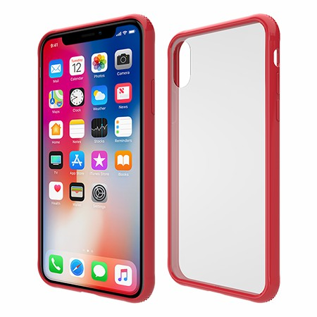 Picture of Glass Series Case for iPhone X/Xs, Red
