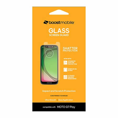 Picture of Glass Screen Guard for Moto G7 Play