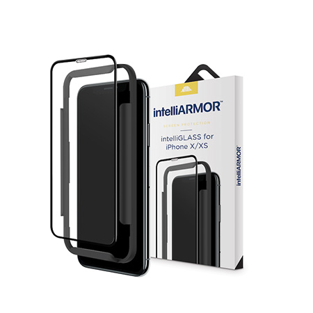 Picture of iPh X/XS Full Coverage, installation tray, Installation Kit