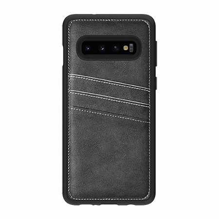 Picture of Alpha Series Case for Samsung Galaxy S10, Suede Grey