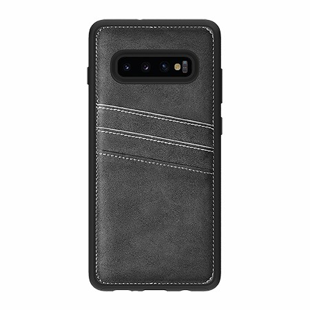 Picture of Alpha Series Case for Samsung Galaxy S10+, Suede Grey