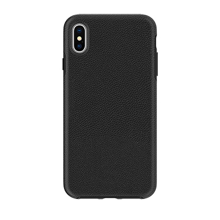 Picture of Supreme Leather Case for Apple iPhone Xs Max, Black