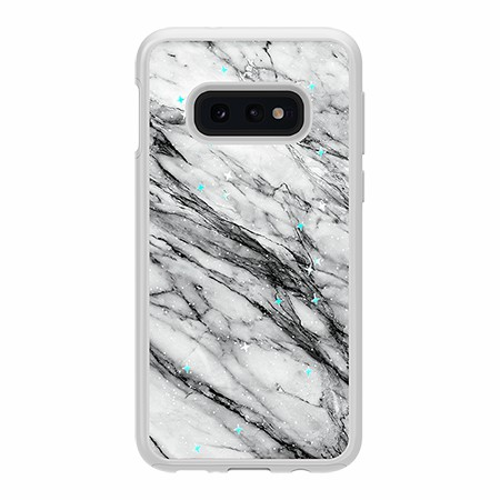 Picture of Sparkle Marble Case for Samsung Galaxy S10e, Black & White