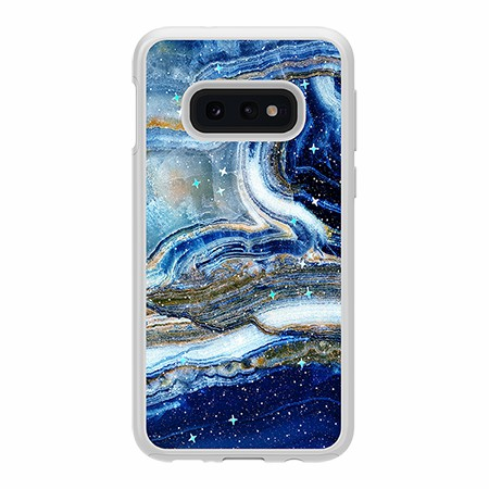 Picture of Sparkle Marble Case for Samsung Galaxy S10e, Blue Sea