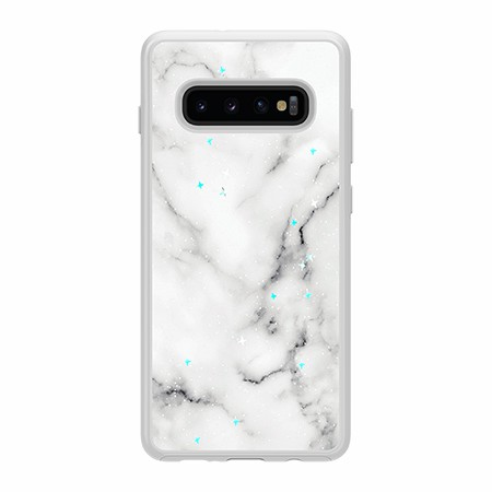 Picture of Sparkle Marble Case for Samsung Galaxy S10+, White