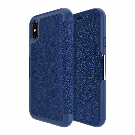 Picture of Sparta Folio Case for Apple iPhone X/Xs, Blue
