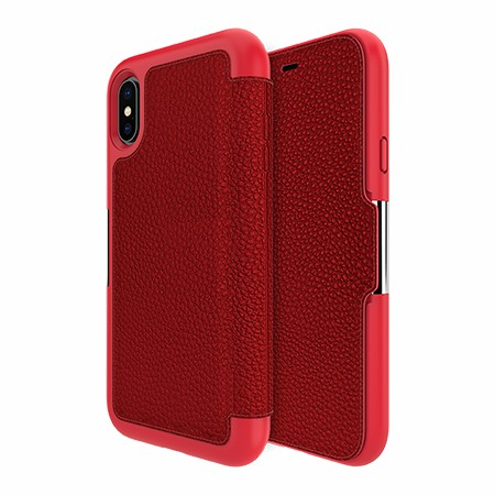 Picture of Sparta Folio Case for Apple iPhone X/Xs, Red