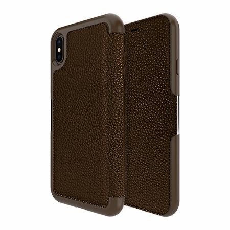 Picture of Sparta Folio Case for Apple iPhone Xs Max, Brown