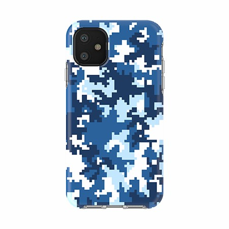 Picture of Supreme Series for iPhone 11, Blue Pixel Camo