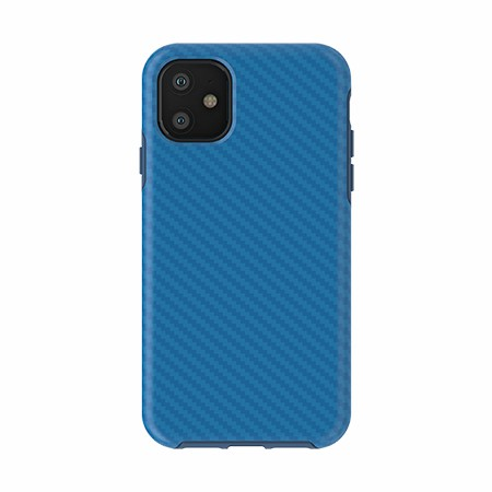 Picture of Supreme Series for iPhone 11, Blue Carbon Fiber
