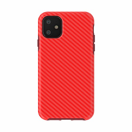 Picture of Supreme Series for iPhone 11, Red Carbon Fiber