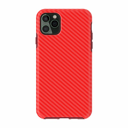 Picture of Supreme Series for iPhone 11 Pro Max, Red Carbon Fiber