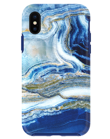 Picture of Apple iPhone X/XS Marble Series Case, Blue Sea