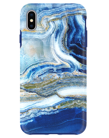 Picture of Apple iPhone Xs Max Marble Series Case, Blue Sea