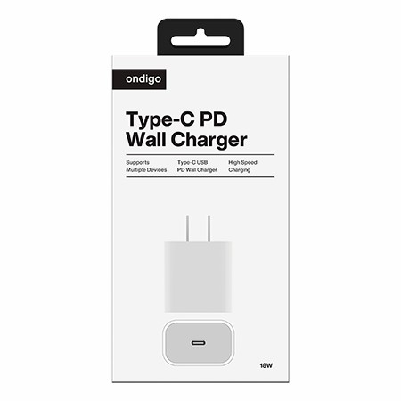 Picture of 18W Type C USB PD Wall Charger