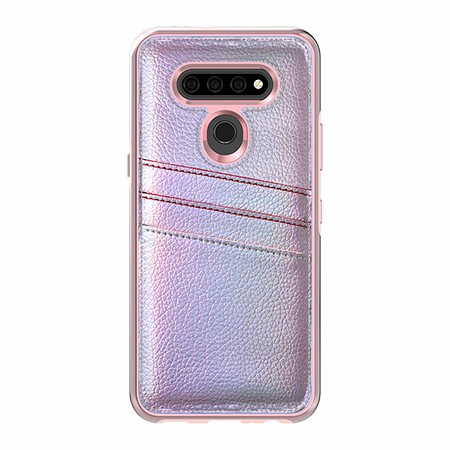 Picture of Alpha Series Case for LG K51, Flashy Pink